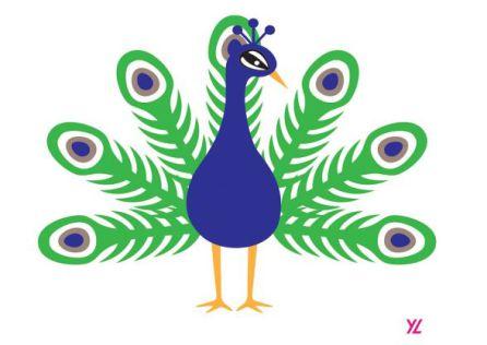 El pavo real aspira a convertirse en emoji oficial en 2018.