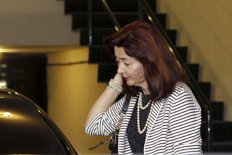 Fotografía de archivo de la magistrada conservadora Concepción Espejel Jorquera