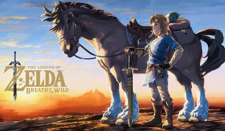 Zelda: Breath of the Wild es el juego del año.