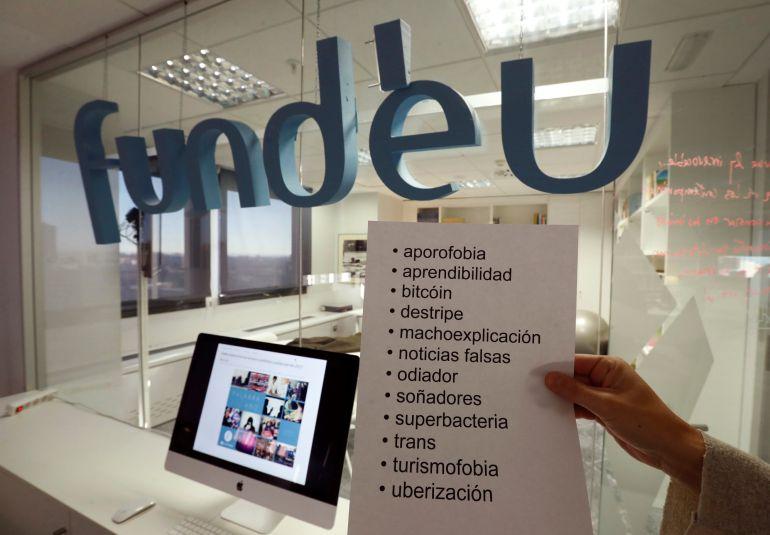"""""""Bitcóin"""", """"noticias falsas"""", """"trans"""", """"turismofobia"""" y """"uberización"""" son algunas de las candidatas a palabra del año 2017 de la Fundación del Español Urgente"""