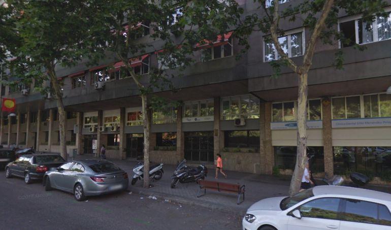 Avenida Menéndez Pelayo, 87, en lugar donde se encuentra el despacho de Garzón.