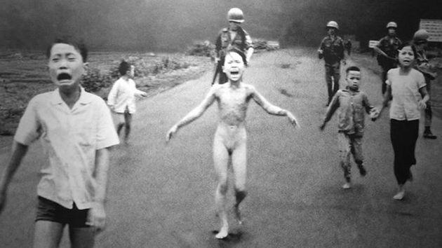La icónica fotografía de la Guerra de Vietnam.