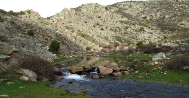Tramo del río Cofio al noroeste de la región