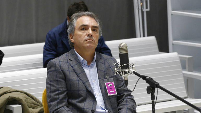 Santiago Espot, durante el juicio.