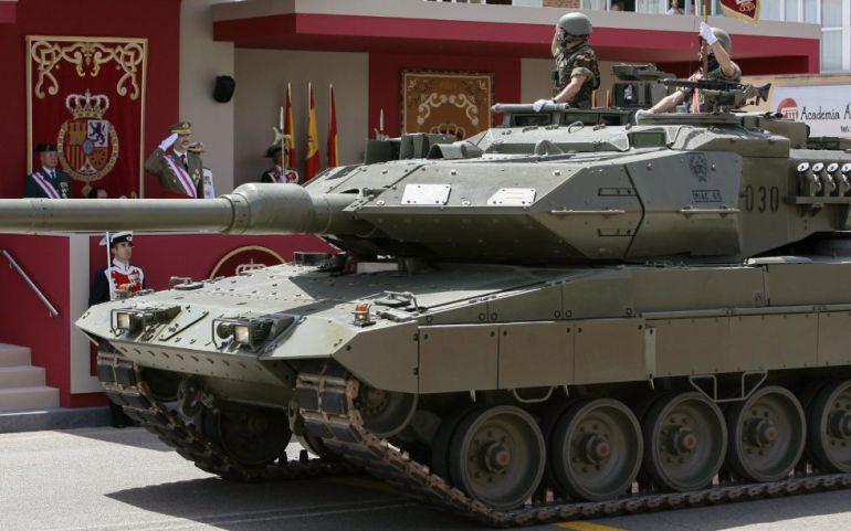 Acto central del Día de las Fuerzas Armadas en 2017.