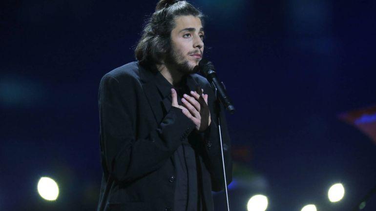 Salvador Sobral durante el Festival de Eurovisión