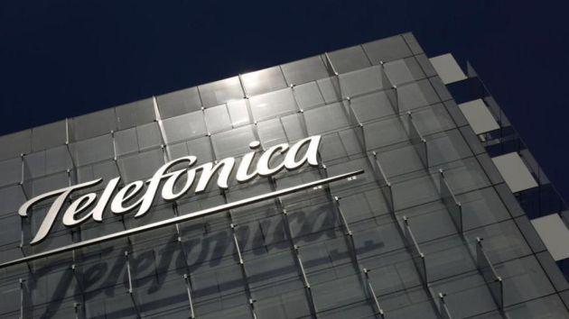 Imagen de archivo del edficio de Telefónica
