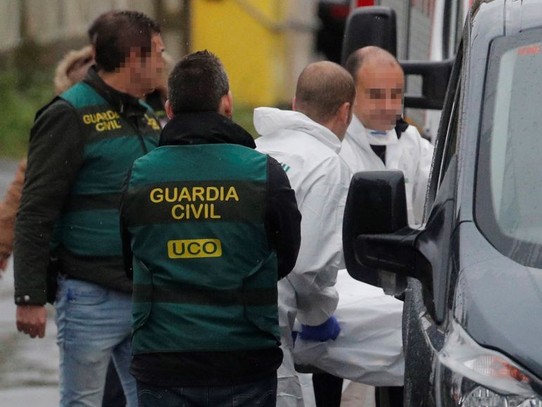 Efectivos de la Guardia Civil destinados en Coruña