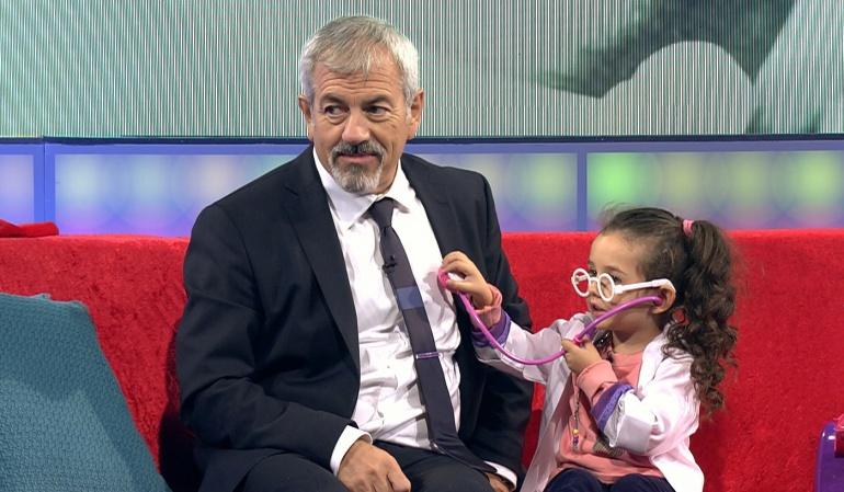 Carlos Sobera, presentador de 'Little Big Show'