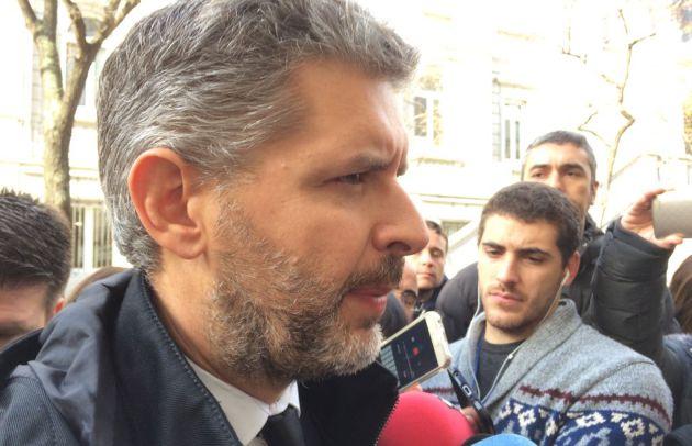 El abogado de Junqueras a la salida