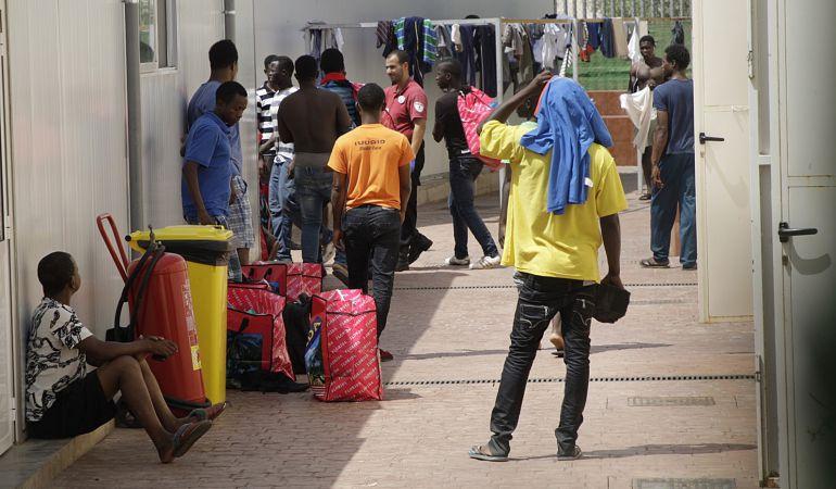 Centro de Estancia Temporal de Inmigrantes (CETI) de Melilla.