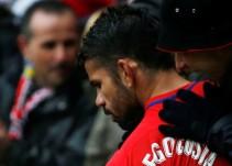 Diego Costa, gol y expulsión en su debut en el Wanda Metropolitano