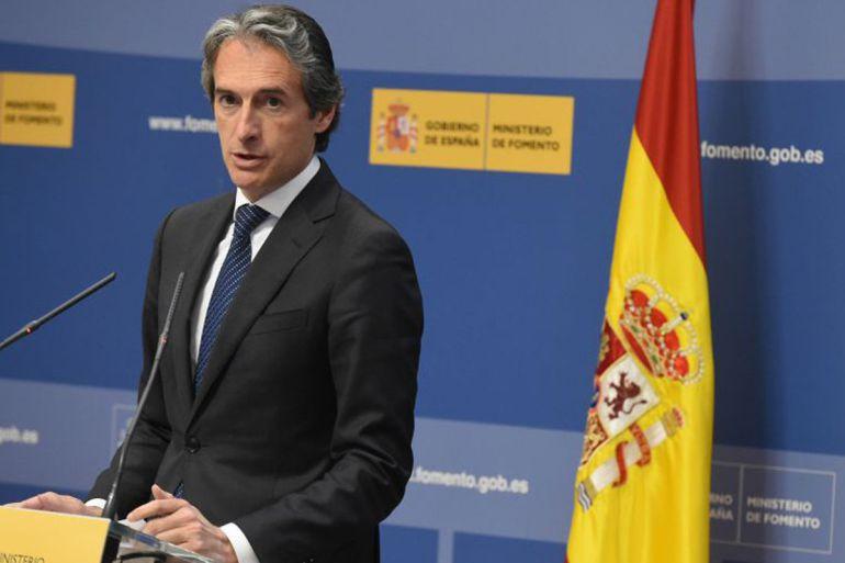 El ministro Íñigo de la Serna, en una fotografía de archivo.