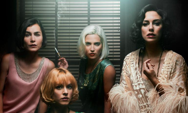 Nadia de Santiago, Maggie Civantos, Ana Fernández y Blanca Suárez, 'Las chicas del cable'