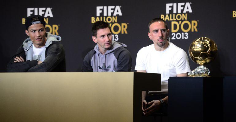 """Franck Ribery cree que fue """"como un robo"""" que no ganase el Balón de Oro"""