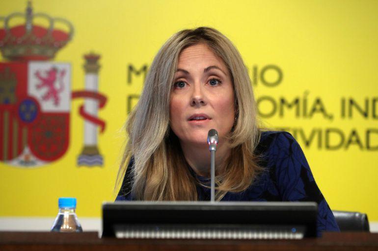 La secretaria general del Tesoro y Política Financiera, Emma Navarro.