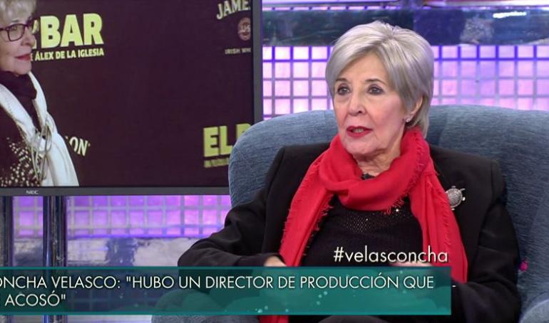Concha Velasco, en 'Sábado Deluxe'