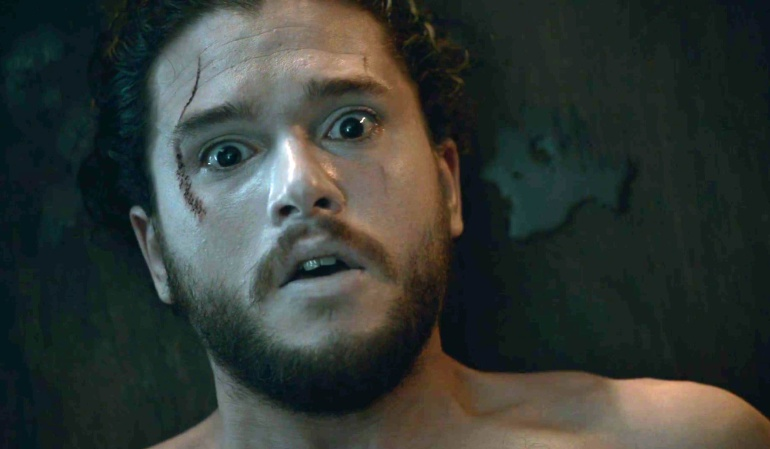 Kit Harington (Jon Snow) en 'Juego de tronos'