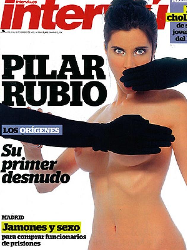 La portada de Pilar Rubio en Interviú