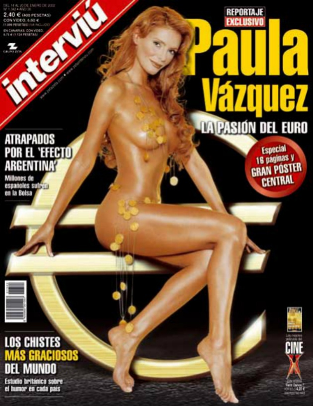 La portada de Paula Vázquez en Interviú