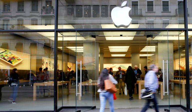 La Apple Store de Zúrich.