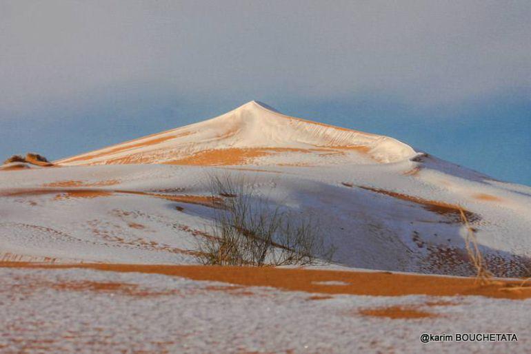 FOTOGALERÍA | Las imágenes de la gran nevada sobre el Sahara