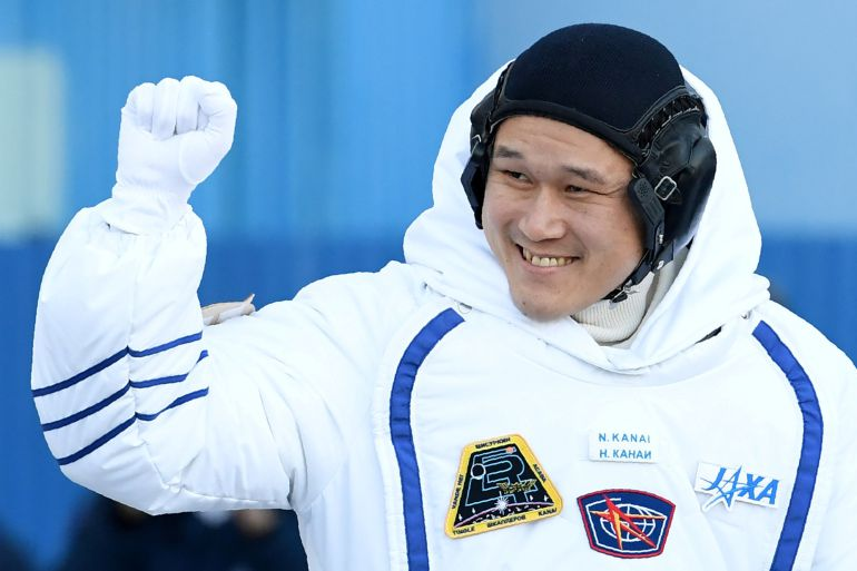 El astronauta japonés Norishige Kanai.