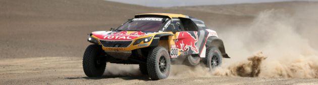 Peterhansel es el nuevo líder del Dakar