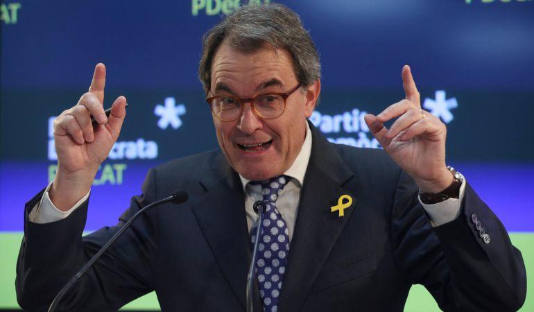 El expresident catalán Artur Mas.