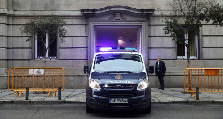 Oriol Junqueras, trasladado al Tribunal Supremo desde Estremera