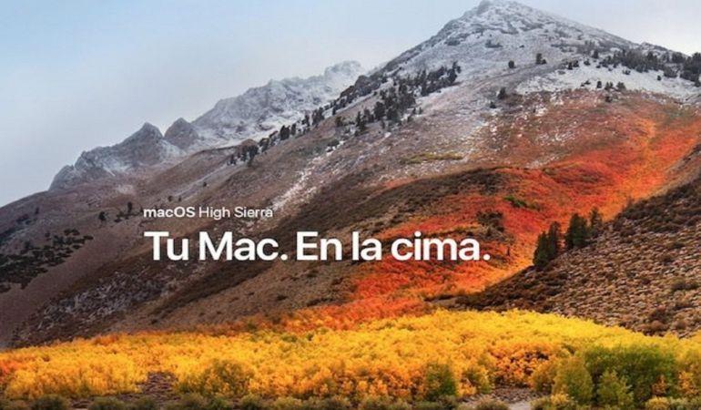 El nuevo fallo afecta al sistema operativo Mac OS High Sierra.