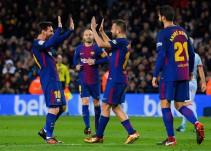 El Barça arrolla al Celta en media hora mágica de fútbol