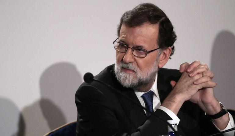 El presidente del Gobierno, Mariano Rajoy, en la inauguración de la octava edición del foro financiero Investors Day