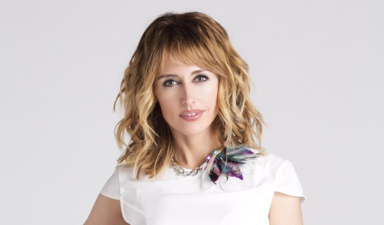 Emma García, presentadora de 'Mujeres y hombres y viceversa'