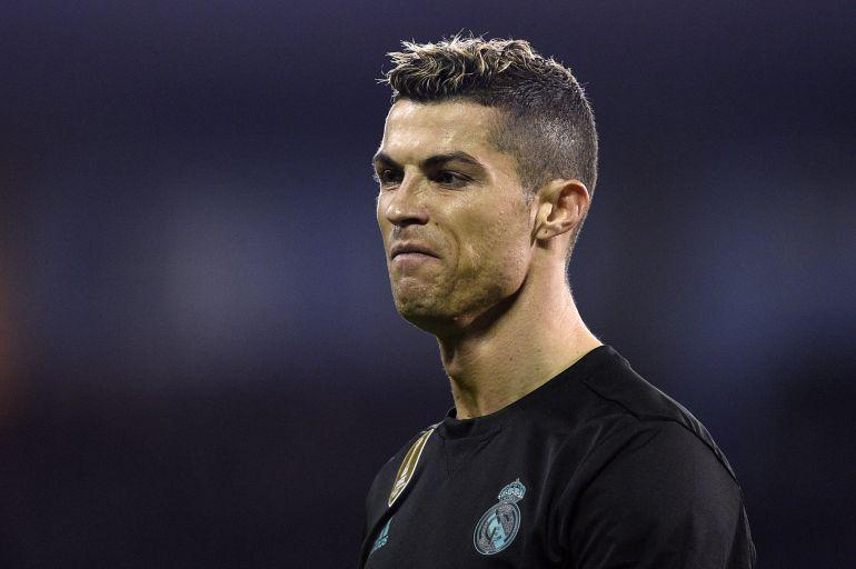 Primer plano de Cristiano Ronaldo