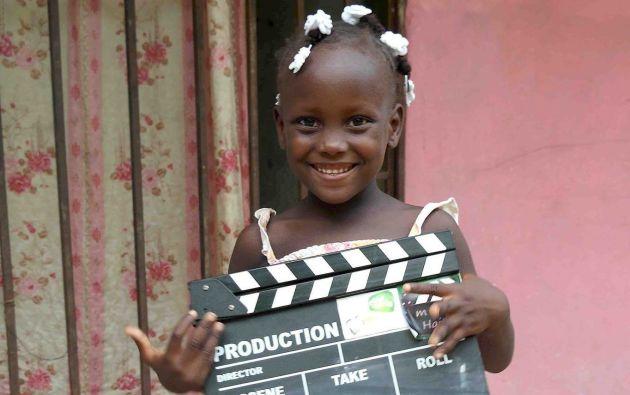 La Asociación Educar desde la Infancia trabaja con niños y niñas de Haití en talleres audiovisuales.