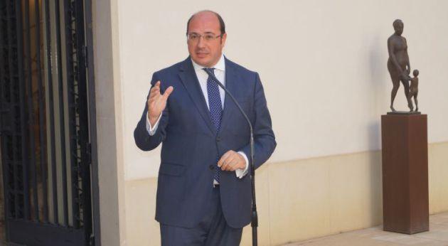 Pedro Antonio Sánchez dimitió tras su imputación en la Púnica