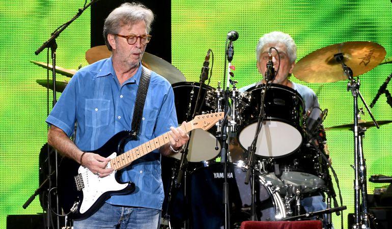 El guitarrista Eric Clapton.