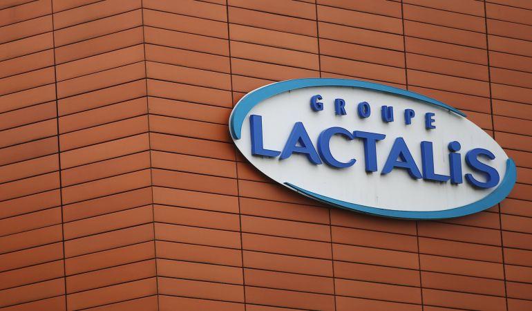 Logo de la empresa Lactalis.
