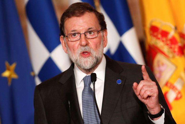 Rajoy durante un encuentro en Roma el pasado día 10
