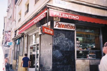Fachada del mítico bar 'Palentino'
