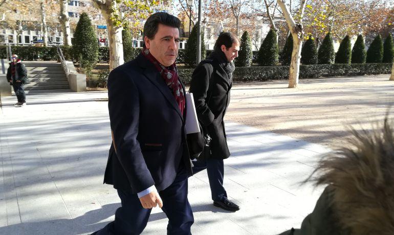 David Marjaliza llega a la Audiencia Nacional