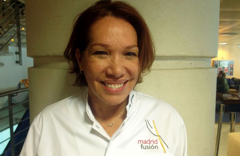 Leonor Espinosa, tras su ponencia en Madrid Fusión 2018.
