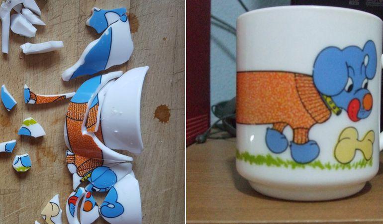 Twitter se vuelca con el usuario para comprar otra taza.