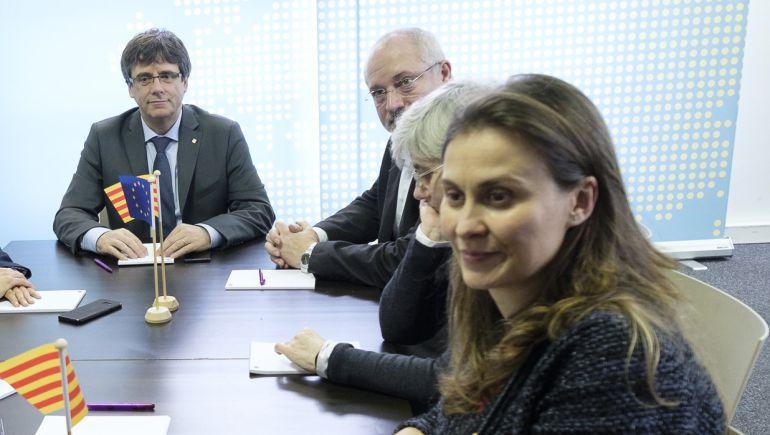 La diputada de ERC en el Parlament Meritxell Serret.