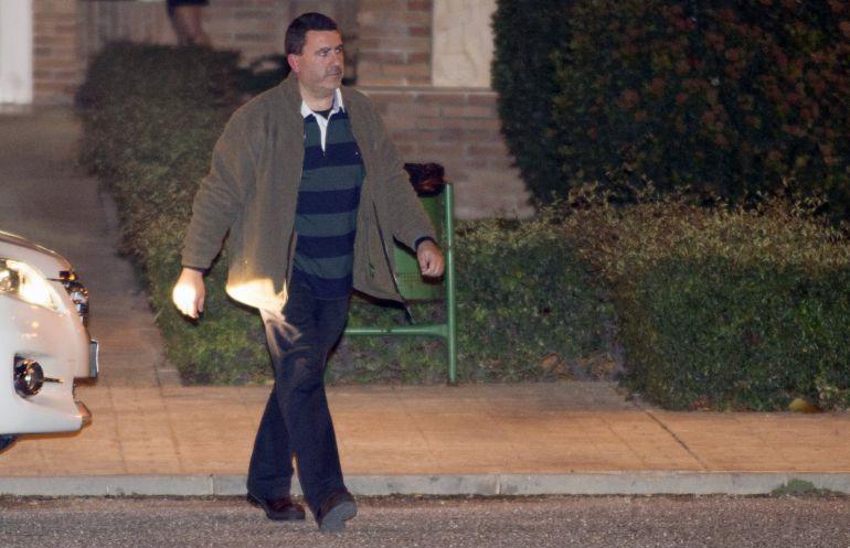 David Marjaliza tras salir de la cárcel de Aranjuez