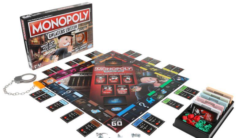 El primer Monopoly en el que hacer trampas es completamente lícito.