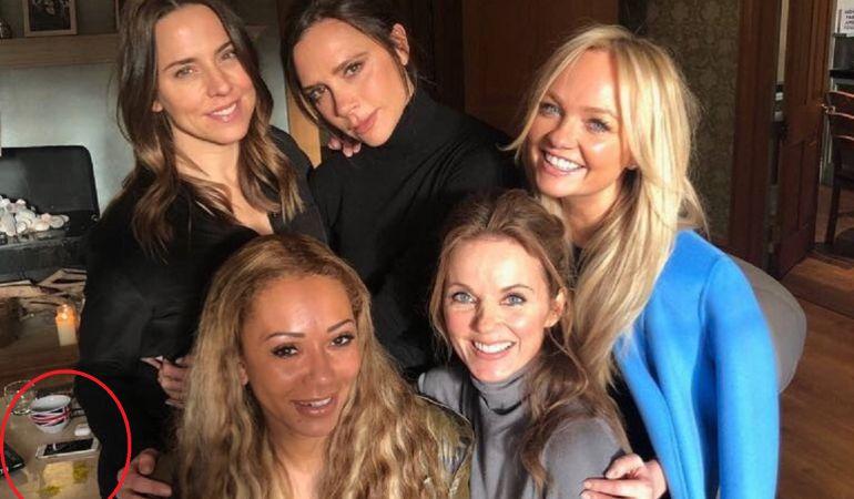 Mel C, Victoria Beckham, Emma Bunton, Geri Halliwell y Mel B.