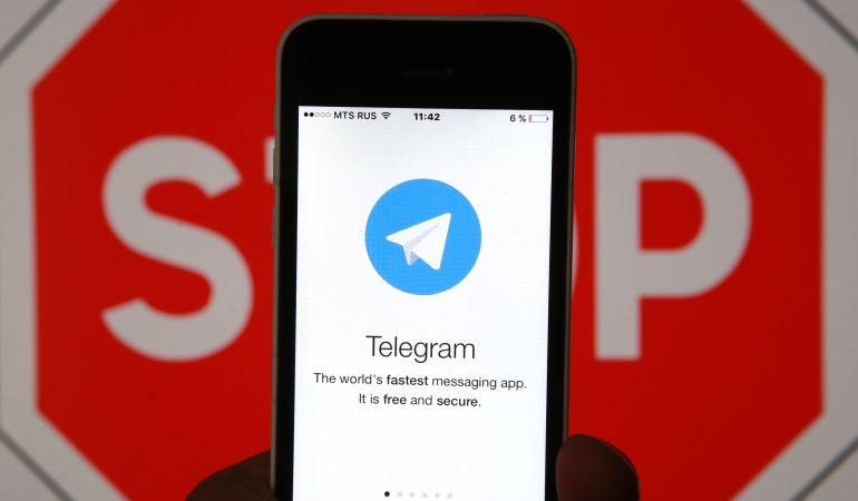 Un usuario accediendo por primera vez a la aplicación de Telegram.