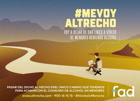 #yomevoyaltrecho jovenes de borrachera: #YoMeVoyAlTrecho, la nueva campaña para frenar las borracheras de menores
